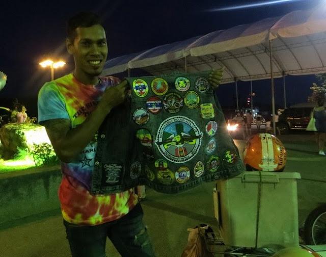 Мотопутешественник из Таиланда