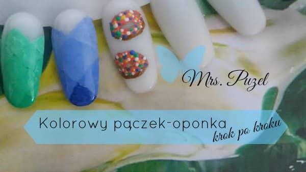blog-paznokcie-jak-zrobic-samemu-krok-po-kroku-tutorial-tlusty-czwartek-2017-paczek-oponka-kolorowy-farby-akrylowe-phoenix