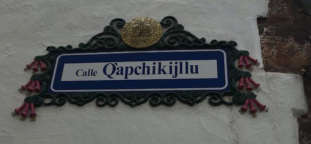 Calle Q'apchikijllu, Cuzco