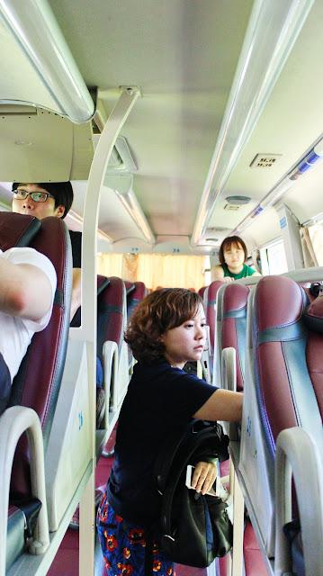 naik sleeper bus di vietnam