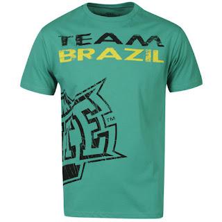 MMA Elite Men's Brazil T-Shirt - Green