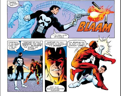 Resultado de imagem para Daredevil Punisher Frank Miller
