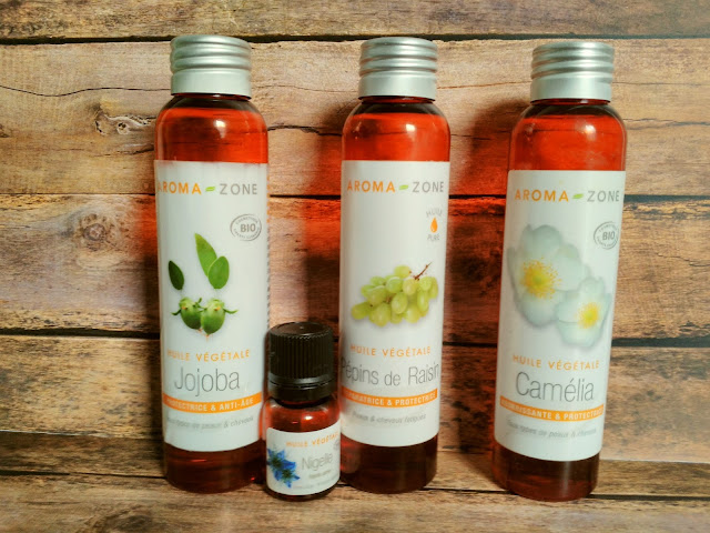 huiles végétales peau visage soigne hydrater nourrir embellir