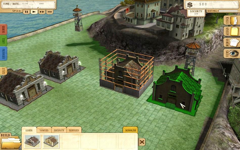 Steam greenlight:: prison tycoon alcatraz.