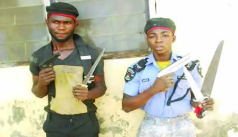 Notorious Armed Robbers Operating With Police Uniform Apprehended