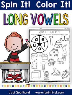 https://www.teacherspayteachers.com/Product/Long-Vowel-Spin-It-Color-It-2625957