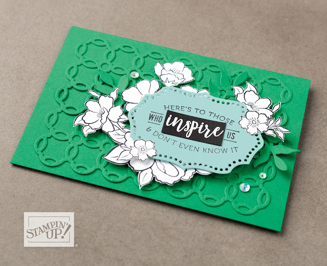 Stampin' Up! Saleabration Lovely Lattice