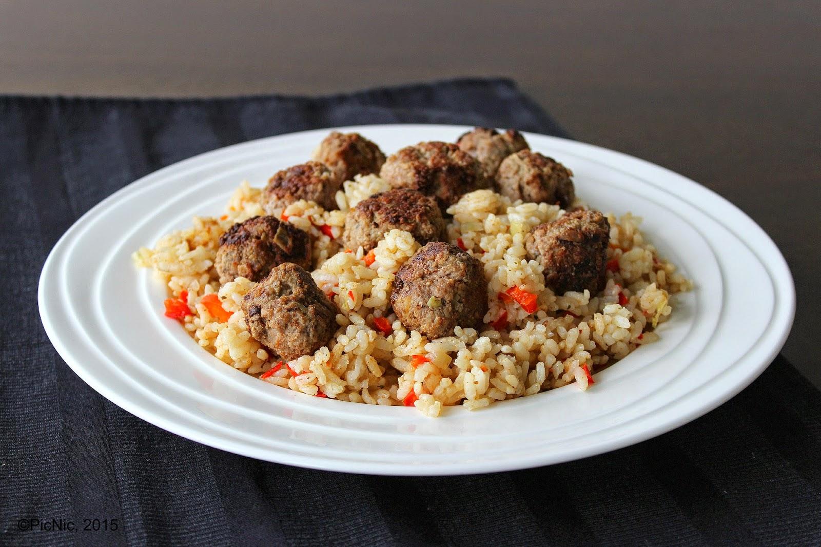PicNic: Moroccan Lamb and Rice