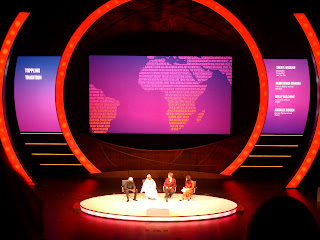 The Tostan panel at the 2012 Women in the World Summit