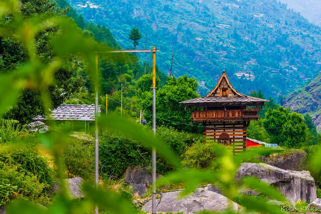 A temple that opens every 12 years, along Rupin pass trek
