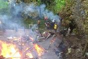 Kebakaran di Tanjung Pauh Hilir Hanguskan 1 Unit Rumah