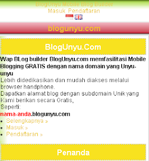 wapblog builder Indonesia