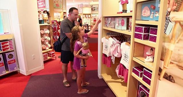 Loja de brinquedos American Girl Place em San Diego