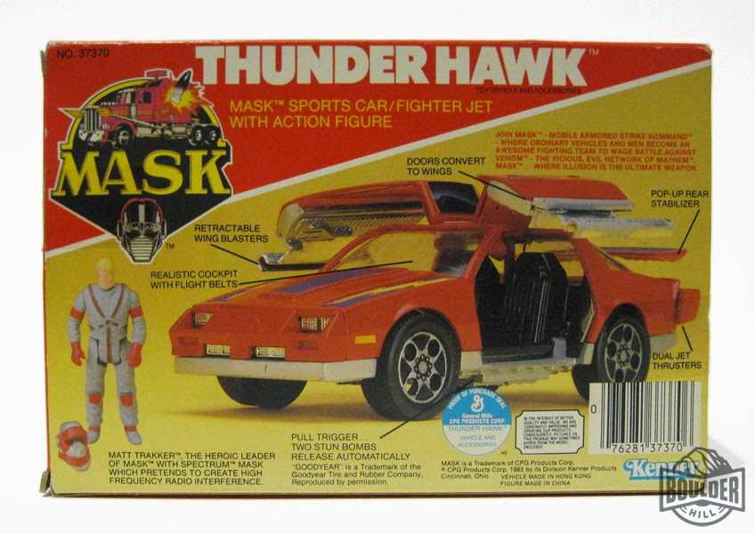 Toy Spotlight Thunder Hawk Agents Of M A S K