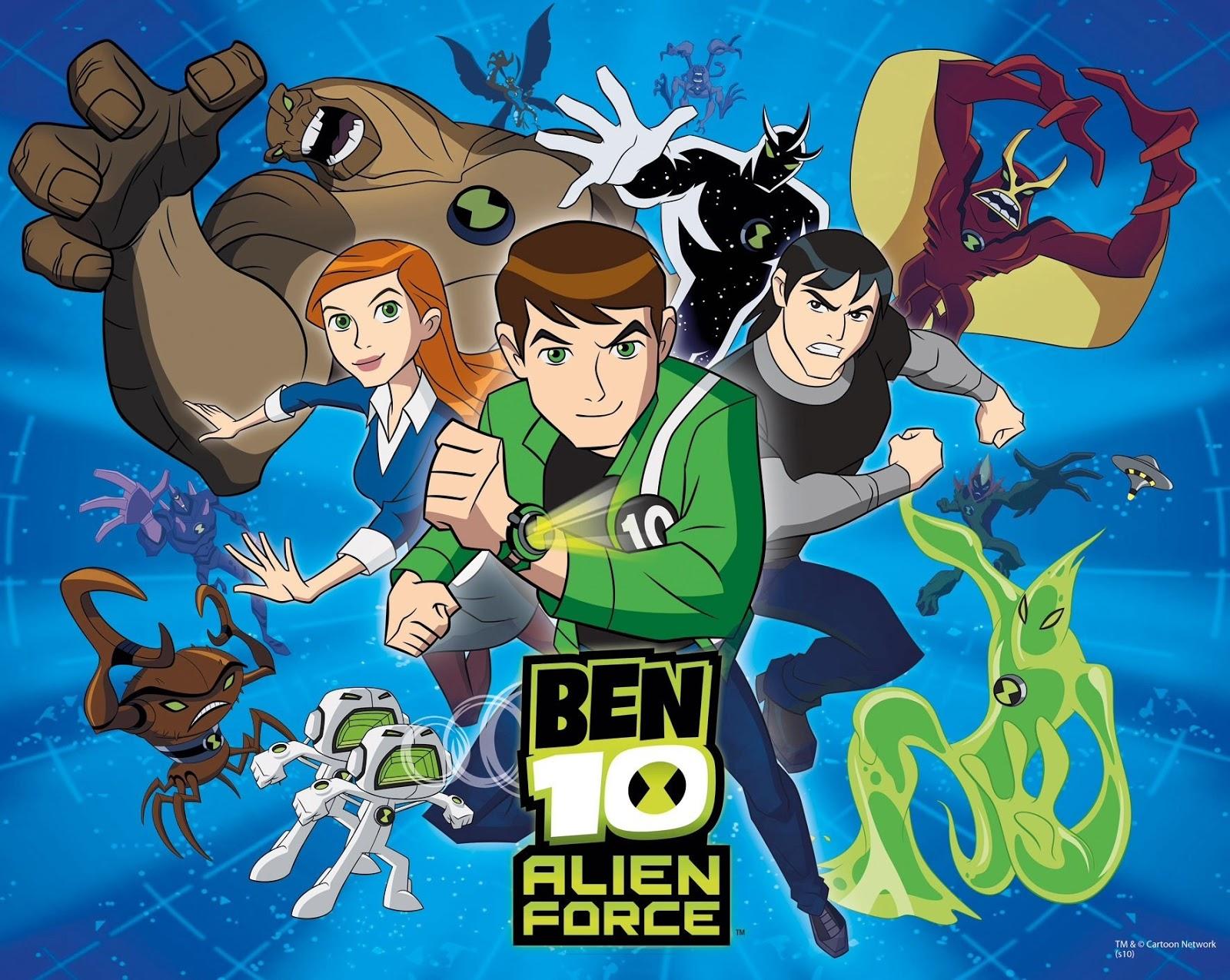 ben 10 alien force in hindi episode