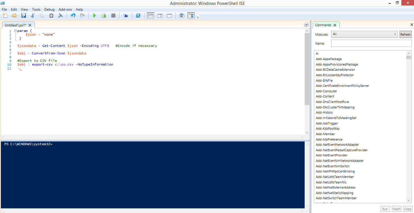 How to Write Your First PowerShell Script