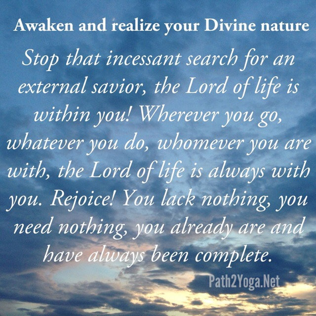 You are Divine Quote