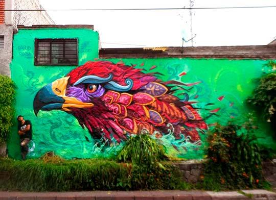 Arte urbano, pintura  e inspiración con Farid Rueda
