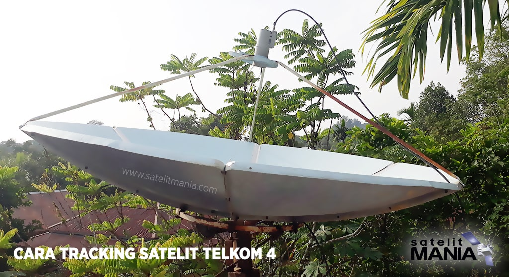 Cara Tracking Dan Lock Satelit Telkom 4
