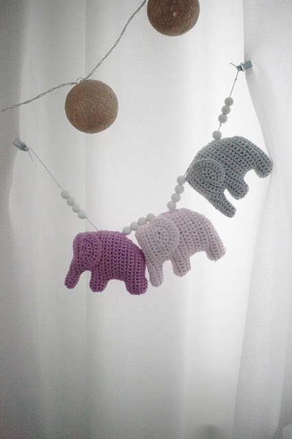 Three Little Elephants - Free Pattern