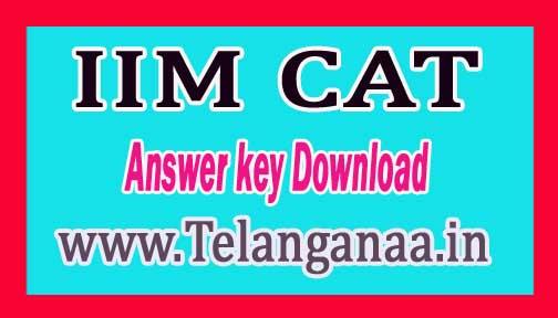 CAT 4th Dec Exam Answer Key 2016 Solution Paper Download @ www.iimcat.ac.in