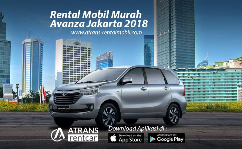 Rental Mobil Murah Avanza di Jakarta
