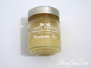 miel bio huile essentielle de mandarine - miel et sens (Provence Art)