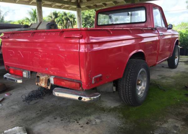 Datsun 520 Pickup Truck - Tow It Thursday