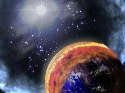 Skenario Proses Hancurnya Bumi Karena Sinar Gamma