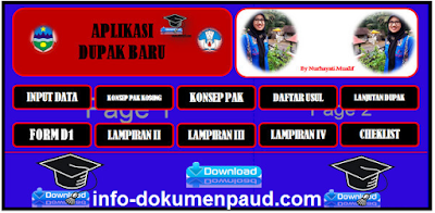 Download Aplikasi Dupak Otomatis Guru PAUD Format Excel 2018