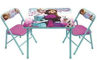 Frozen Activity Table Set