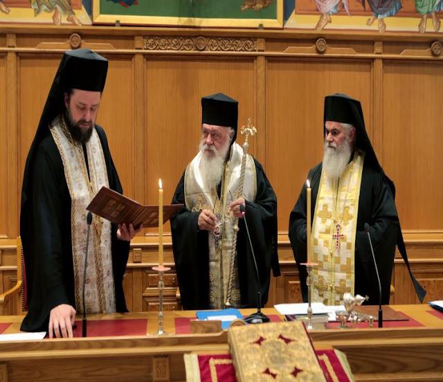 Νομοπαρασκευαστική επιτροπή πρότεινε ο Ιερώνυμος για την συμφωνία με τον Τσίπρα