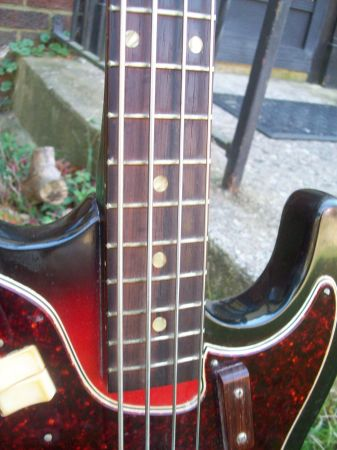 Craigslist Vintage Guitar Hunt Harmony H25 Bass In