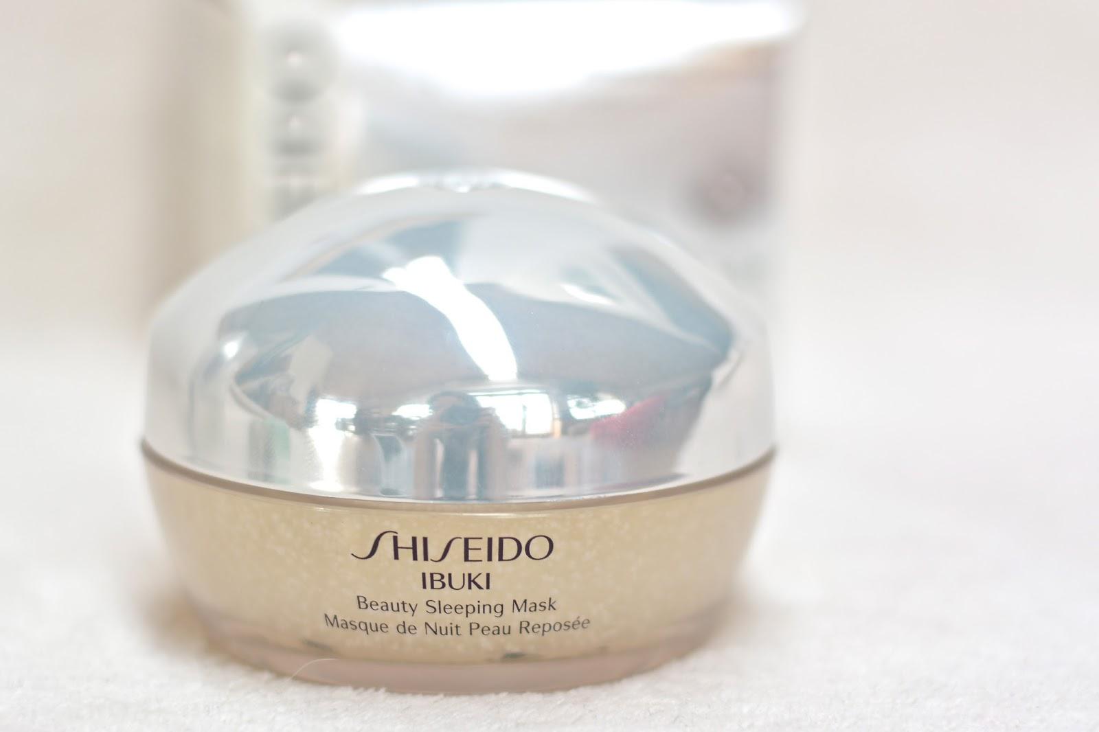 produits pastels pour princesses press es shiseido ibuki. Black Bedroom Furniture Sets. Home Design Ideas