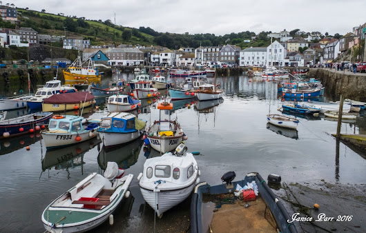 Holiday to Cornwall - Day 4 - My Birthday and Mevagissey