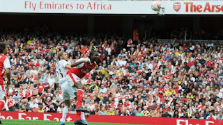 Pictures From Arsenal Legends vs AC Milan Legends Match