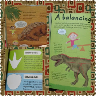 dinosaur factivity book contents