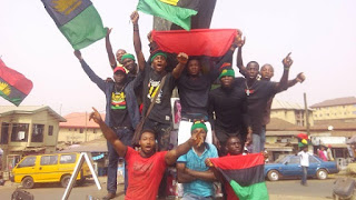 Anambra Election: IPOB Members Hold Rally In Onitsha
