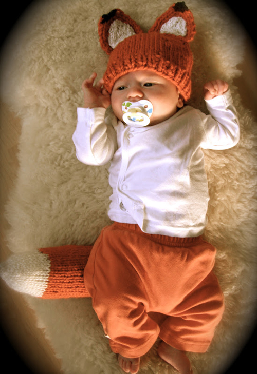 Woodland Fox Baby - Free Pattern