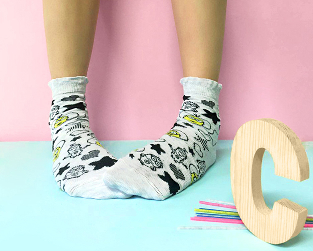 Calzedonia calcetines para niños de Los Minions