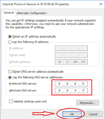 Thay DNS vào facebook khi bị chặn - H04