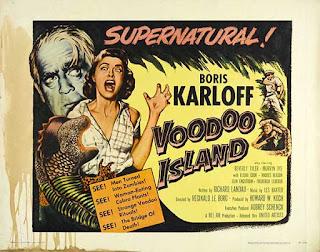 Voodoo Island 1957 / Poster Original