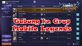 Cara Bergabung dengan Grup Di Mobile Legends