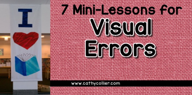 After analyzing a running record, giving your students what they need to imperative. Here are 6 mini-lessons for students who have visual errors.