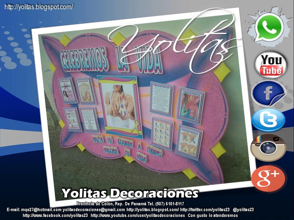 Yolitas decoraciones mural c ncer de seno panam - Esquineras de pared ...
