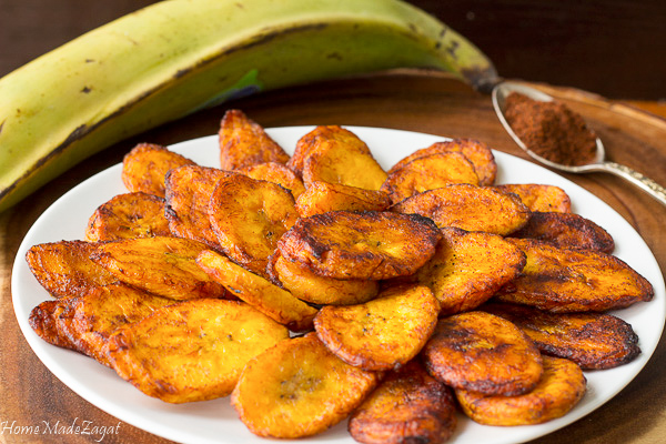 Sweet and Spicy Fried Ripe Plantains