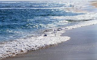 HD achtergrond zee met strand