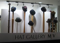 Designer headwear destination Hat Gallery M/V relocates