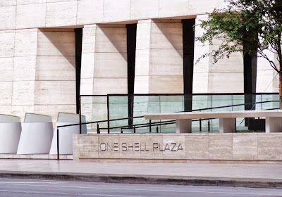 One Shell Plaza - street level pic