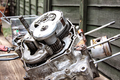Honda CG 125 clutch rebuild testing and common problems